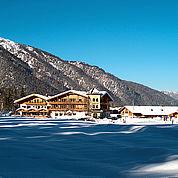 © Landhotel Strasserwirt - Winterlandschaft Langlaufloipe