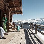 © Oesterreich Werbung/ Peter Burgstaller - Skihuette in Gastein im Salzburger Land