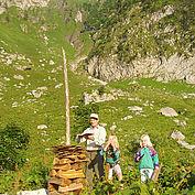 Wanderung mit Franz Pendl