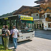 Wanderbus in Filzmoos