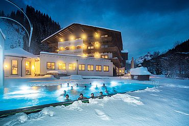Landhotel Alpenhof im Winter
