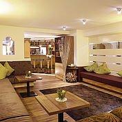 Loungebereich vom Landhotel Schuetterbad