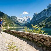 Montainbiken am Gosausee - copyrights OOE Tourismus Hochhauser