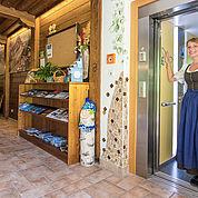 © Landhotel Presslauer - barrierefrei in jedes Stockwerk