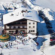 Salzburger Dolomitenhof - Hotelansicht Winter
