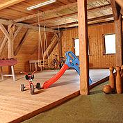 Indoor Spielplatz im Landhotel Gressenbauer