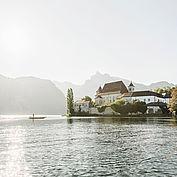 Hotelansicht Landhotel Das Traunsee mit Seeblick