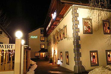 © Landhotel Agathawirt - Hotelansicht Winter