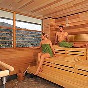Sauna im Landhotel Edelweiss