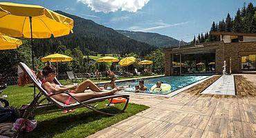 Im Sommer im Landhotel Alpenhof