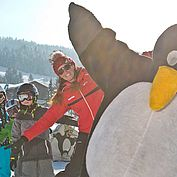 Skispass mit dem Pinguin © rol