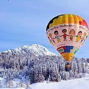 Ballonimpressionen3 im Winter © TVB Filzmoos