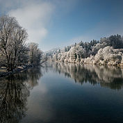 Winterlandschaft Sierning