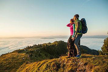 Ausblick beim Wandern, ©Ferienregion Salzburger Lungau