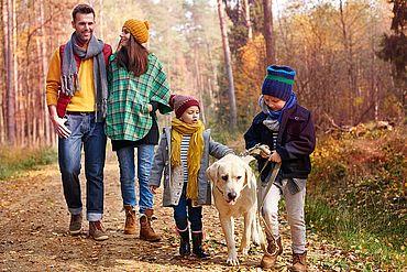 Familienurlaub mit Hund in Österreich
