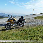 Mit dem Motorrad zur Sommeralm