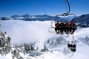 Skifahren in der Region Nassfeld