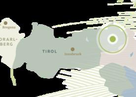 Regionskarte Kitzbueheler Alpen