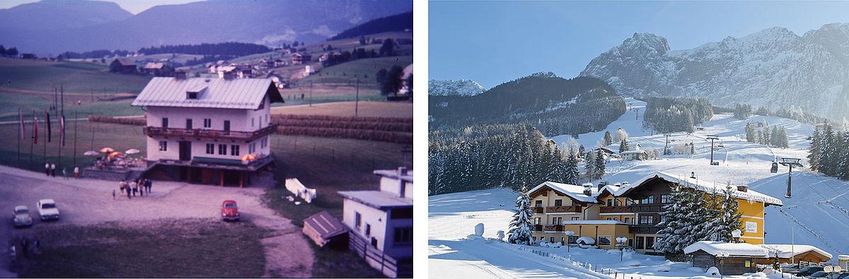 Landhotel Traunstein von einst bis heute