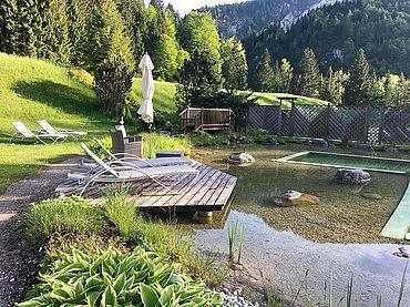 Naturbadeteich Landhotel Schütterbad