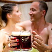© Landhotel Moorhof - ein Bierbad, ein etwas anderes Erlebnis