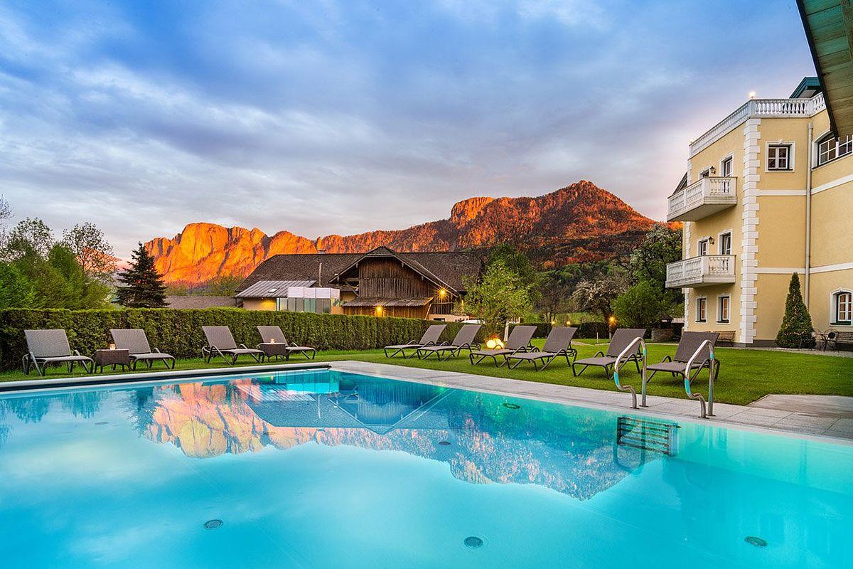 Landhotel Eichingerbauer mit Bergpanorama inklusive