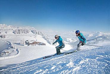 Skifahren in der SkiWelt Wilder Kaiser-Brixental, ©  rol.art images, TVB Wilder Kaiser