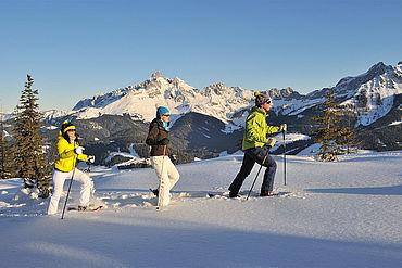 Schneeschuhwandern, ©Tourismusinformation Filzmoos