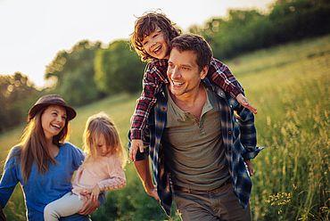 Wanderurlaub mit der Familie in Österreich