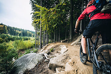 Mountainbiken im Stodertal