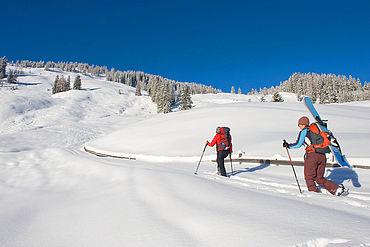 Lueger Graben, Skitourengeher, ©Alpbachtal Seenland Tourismus / Berger Bernhard
