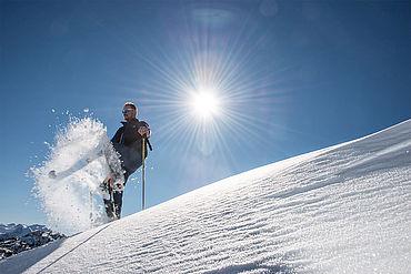 Schneeschuhwandern am Feuerkogel, © STMG Fotograf: Wolfgang Stadler