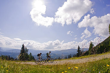 Sommer Mountainbiker Ferienregion Lungau © Ferienregion Lungau