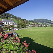 Landhotel Tirolhof Zimmerausblick
