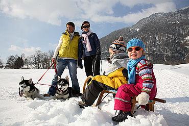 Winterwander im Salzkammergut, © STMG Fotograf: Christian Parzer
