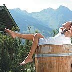 © Landhotel Hauserbauer - Naturwellness im Fass