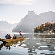 © Landhotel Das Traunsee/ Cristof Wagner - Plettenfahrt mit dem Chef des Hauses