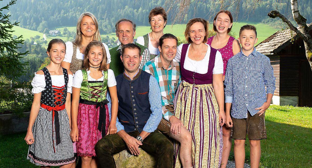 Die Gastgeber - Familie Ramsebner