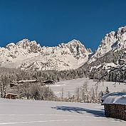 Landschaft Wilder Kaiser Winter, © Daniel Reiter / Peter von Felbert