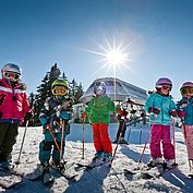 Kinderskikurs im Skigebiet Ski Amade