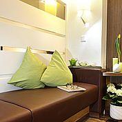 Loungebereich der zum Verweilen einlädt