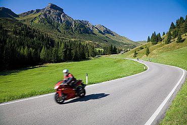 Motorradtour durch die Dolomiten