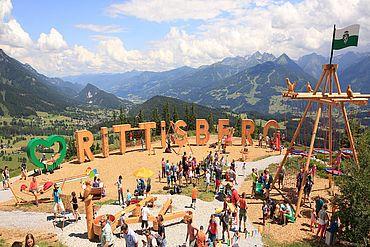 Höhenspielplatz Rittisberg © Photo Austria.at Hans Peter Steiner