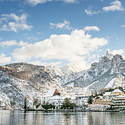 Der Traunsee im Winter