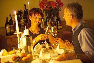 Landhotel Schwaiger - romantisches Abendessen