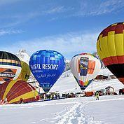 Ballonimpressionen2 im Winter © TVB Filzmoos