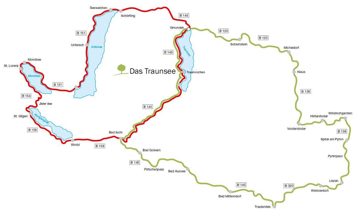 Die schönsten Motorrad-Touren im Salzkammergut und an der Romantikstraße