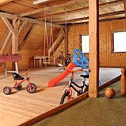 Indoor Spielplatz beim Landhotel Gressenbauer