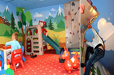 Kids-Fun-Area im Landhotel Alpenhof
