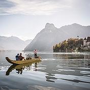 Bootsausfahrt am Traunsee - © Landhotel Das Traunsee